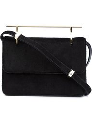 pony hair shoulder bag  M2malletier