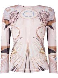 полупрозрачный топ 'Stargate' Givenchy
