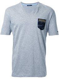 футболка с контрастным карманом  Guild Prime