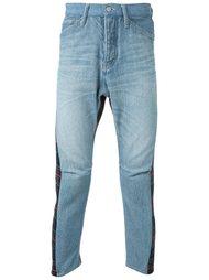 джинсы с панельным дизайном Fad Three