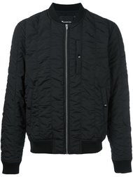 куртка-бомбер с эффектом помятости T By Alexander Wang