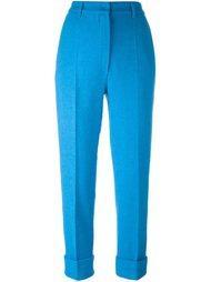укороченные брюки со складками Hache