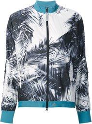 palm print jacket Adidas By Stella Mccartney