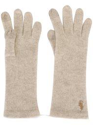 сенсорные перчатки с логотипом Polo Ralph Lauren