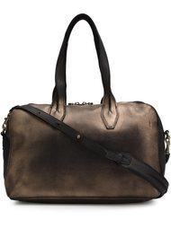 сумка-тоут с эффектом металлик Officine Creative