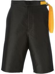 шорты 'Giulio' с контрастным ремешком Jil Sander