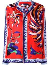 рубашка с цветочным узором Emilio Pucci