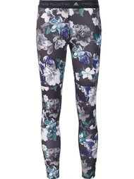 'Purple Dark Blossom' leggings Adidas By Stella Mccartney