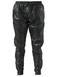 спортивные брюки с простроченными панелями En Noir
