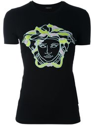 футболка с вышитым логотипом Versace