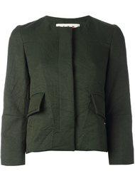 пиджак с мятым эффектом Marni