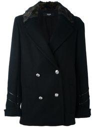 двубортный пиджак в стиле милитари  Versus