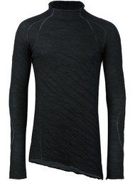 пуловер с высокой горловиной и длинными рукавами Masnada
