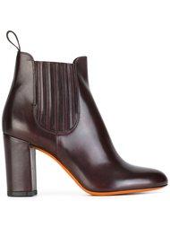 ботинки челси на каблуке Santoni