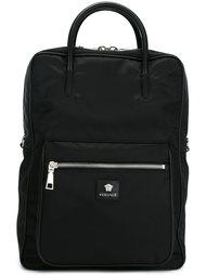 рюкзак с карманом на молнии Versace