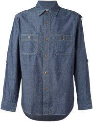 джинсовая рубашка с карманами Ganryu Comme Des Garcons