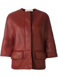 куртка с подкладкой из овчины Marni