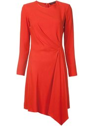 asymmetric draped dress Josie Natori