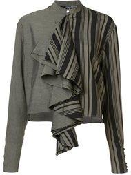 cropped ruffle blouse  Isabel Benenato