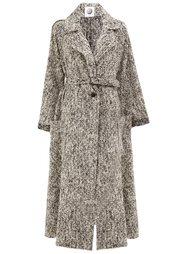 пальто с поясом и карманами Aganovich