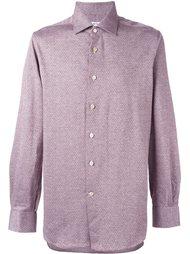 рубашка в мелкий горошек Kiton