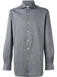 тканая рубашка Kiton