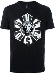 футболка с принтом-логотипом Versus