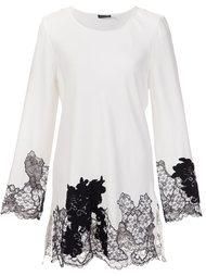 lace detail blouse Josie Natori
