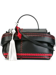 сумка среднего размера с кисточкой Tod's
