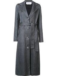 длинное пальто с поясом Gabriela Hearst