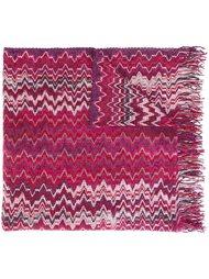 вязаный шарф с узором зигзаг Missoni