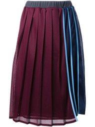 плиссированная юбка в полоску Muveil