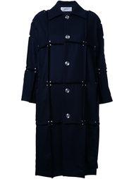 пальто с панельным дизайном  Julien David