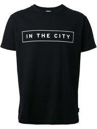 футболка с принтом 'In The City'  Cityshop