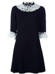платье с отделкой рюшами Vivetta