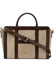 сумка-тоут с панельным дизайном A.P.C.