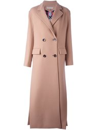 двубортное пальто Emilio Pucci