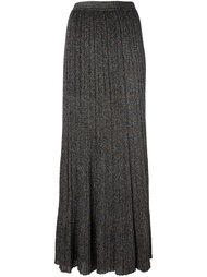 плиссированная юбка с эффектом блесток Missoni