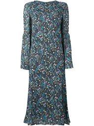 платье с цветочным узором Vivetta
