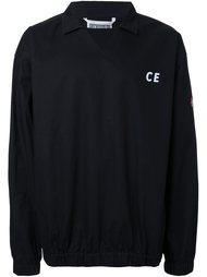 футболка с воротником 'Intransigent Materialism'  C.E.