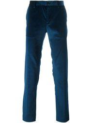 бархатные брюки Etro