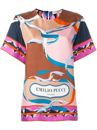 футболка с принтом Emilio Pucci