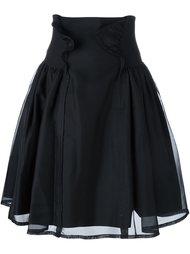 юбка с высокой талией Comme Des Garçons Noir Kei Ninomiya