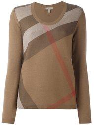 пуловер с полосатым принтом Burberry