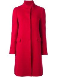 приталенное однобортное пальто  Blugirl