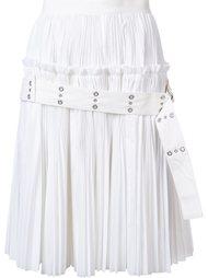 плиссированная юбка с поясом Sacai