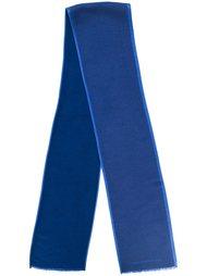 шарф с контрастной окантовкой  Hackett