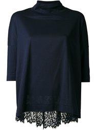 блузка с кружевной вставкой на спине Muveil