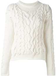 вязаный пуловер Malo