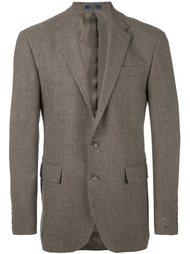 тканый однобортный пиджак  Polo Ralph Lauren